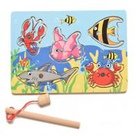 201.41 руб. 56% СКИДКА|Детская рыболовная игра и деревянный океан настольная игра головоломка магнитный шток игрушка для отдыха на открытом воздухе игрушка для детей jogos de tabuleiro em madeira-in Игрушки для рыбалки from Игрушки и хобби on Aliexpress.com | Alibaba Group