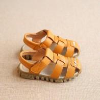 494.36 руб. 10% СКИДКА|Новая весенне летняя обувь сандалии из мягкой кожи для мальчиков летние ботинки для малышей мягкие кожаные пляжные сандалии CSH130-in Сандалии from Мать и ребенок on Aliexpress.com | Alibaba Group