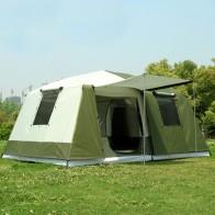 16380.33 руб. 25% СКИДКА|Новое поступление, большая палатка для уличного кемпинга, 10 12 человек, Высококачественная Роскошная семейная/вечерние, 2 комнаты, 1 зал, палатка для кемпинга на открытом воздухе-in Палатки from Спорт и развлечения on Aliexpress.com | Alibaba Group