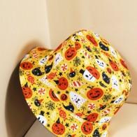 Хэллоуин Мужская шляпа с узором тыквы
