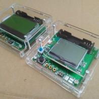 Прозрачный в виде ракушки для ESR метр Mega328 цифровой комбо Транзистор тестер Диод Триод индуктор емкость резистор MOS/PNP/NPN купить на AliExpress