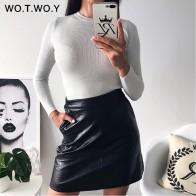 674.01 руб. 40% СКИДКА|WOTWOY 2018 осень зима женщина свитер Вязание пуловеры для женщин блестящие свитер из люрекса для тонкий черный розовый дна повседневное купить на AliExpress
