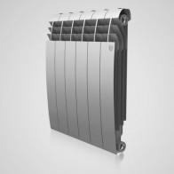 Купить Радиатор биметалл RT BiLiner 500/87/6 секц Silver Satin (серебристый) в Ульяновске - Биметаллические радиаторы
