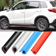 5M/10M Car Door Seal Strips Sticker Rubber Car Door Trunk Lip Edge Seal Protectors Waterproof Anti-Noise Moulding Trim Strips