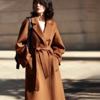 12299.96 руб. 10% СКИДКА|IRINAW901 Новое поступление 2018 классический халат стильные модели с ремнем длинные ручной работы двустороннее шерстяное кашемировое пальто для женщин-in Шерсть и сочетания from Женская одежда on Aliexpress.com | Alibaba Group