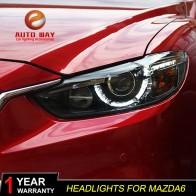 35461.78 руб. 13% СКИДКА|Автомобильный Стайлинг для Mazda Atenza Mazda6 фары Mazda 6 M6 2013 2016 светодиодный фары DRL Объектив двойной луч HID ксеноновые автомобильные аксессуары-in Аксессуары для автомобильного освещения from Автомобили и мотоциклы on Aliexpress.com | Alibaba Group