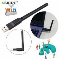 123.6 руб. 20% СКИДКА|Kebidu новая 150 M USB 2,0 WiFi беспроводная сетевая карта 802,11 b/g/n Антенна локальной сети адаптер с антенной для портативных ПК Мини Wi Fi ключ-in Сетевые карты from Компьютер и офис on Aliexpress.com | Alibaba Group