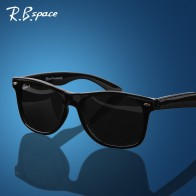 US $5.88 58% OFF|RBspace Unisex fashion vintage Polarized sunglasses man Classic Brand Rivets Metal Design men women retro glasses oculos de sol-in Men