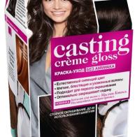 Купить L'Oreal Paris Casting Creme Gloss стойкая краска-уход для волос, 200, Черный кофе по низкой цене с доставкой из маркетплейса Беру