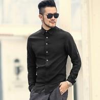 950.78 руб. 45% СКИДКА|Демисезонный хлопковые рубашки Высокое качество Повседневная рубашка Slim Fit социальные рубашки рубашка мужчины белье платье с длинными рукавами рубашка S242-in Повседневные рубашки from Мужская одежда on Aliexpress.com | Alibaba Group