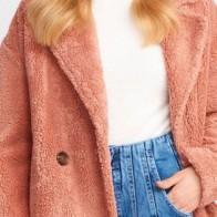 Женское пальто Dilvin ME-101A06811_Pudra - Стильные пальто