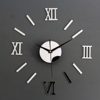 US $2.38 20% OFF|Wall Clock Pattern Luxury Large DIY 3D Decorative Wall Sticker Home Decor Clock Living Room Home Decoration Mirror Art Designer-in Wall Stickers from Home & Garden on Aliexpress.com | Alibaba Group