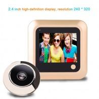1602.07 руб. 35% СКИДКА|2,4 дюймов цифровая дверная камера дверной звонок ЖК цветной экран 145 градусов камера для смотрового глазка дверной звонок 240*320 наружный дверной Звонок-in Дверные звонки from Безопасность и защита on Aliexpress.com | Alibaba Group