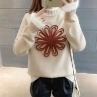 1088.49 руб. 26% СКИДКА|Корейский стиль контраст цвет вязаный свитер для женщин свитера с бисером и пуловеры для Зимние Женские Водолазка пуловер Топы Корре-in Пуловеры from Женская одежда on Aliexpress.com | Alibaba Group
