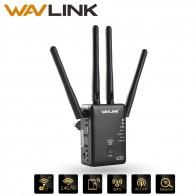 2043.26 руб. 42% СКИДКА|Wavlink AC1200 WI FI Repeater/маршрутизатор/точка доступа Беспроводной Wi Fi Range Extender WI FI усилитель сигнала с внешних антенн Лидер продаж купить на AliExpress