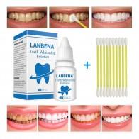 € 3.97 55% de réduction|LANBENA Dents Blanchiment Essence Poudre de Nettoyage De L