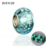 US $1.0 |BOEYCJR Glowing in the Dark Bead Charm Fit Authentic Pandora Charms Bracelet Glass Bead For Women Jewelry Berloque 2017-in Beads from Jewelry & Accessories on Aliexpress.com | Alibaba Group