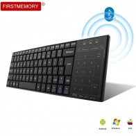 US $22.19 40% OFF|Bluetooth 3.0 Wireless Keyboard Multimedia Touch Pad with Mouse Mode BT 3.0 Keypad Rechargeable for PC Windows Mac/iOS Android-in Keyboards from Computer & Office on Aliexpress.com | Alibaba Group