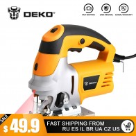 US $49.99 30% OFF|DEKO Laser Jig Saw, Variable Speed Includes 6pcs Blades, Metal Ruler, Dust Pipe, Allen Wrench Electric Saw Tools-in Electric Saws from Tools on Aliexpress.com | Alibaba Group