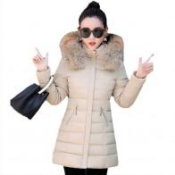 4211.7 руб. |Женская зимняя хлопковая стеганая куртка Новый стиль Мода с капюшоном меховой воротник пальто повседневное тонкий большой ярдов женские теплые парки LADIES797 купить на AliExpress