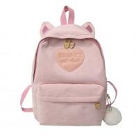 US $6.11 46% OFF|Leopard Print Women Corduroy Backpacks School Bags For Teenage Girls Travel Rucksack Kawaii Backpack Harajuku Cute Bag mochila-in Backpacks from Luggage & Bags on Aliexpress.com | Alibaba Group