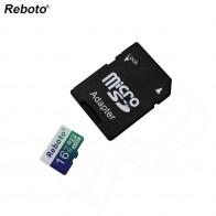 42.76 руб. 74% СКИДКА|Настоящее Ёмкость Reboto Microsd 32 ГБ Class10 4 ГБ 8 ГБ 16 ГБ 64 ГБ Micro SD Card Новый TF карты памяти карты Бесплатная адаптер купить на AliExpress