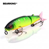 US $4.94 24% OFF|Bearking 2016good fishing lure minnow quality professional bait 11.3cm 13.7g swim bait jointed bait equipped black or white hook-in Fishing Lures from Sports & Entertainment on Aliexpress.com | Alibaba Group