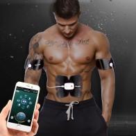 € 20.56 20% de DESCUENTO|Aplicación inteligente Multi EMS músculo Abdominal entrenador electrónico músculo estimulador Exerciser máquina Cuerpo Adelgazante Fitness masaje traje en Rodillos para abdominales de Deportes y ocio en AliExpress.com | Alibaba Group