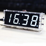 439.83 руб. 49% СКИДКА|Компактный 4 цифра DIY цифровые светодиодные часы комплект часы «сделай сам» дополнительная подсветка Управление Температура даты и времени Дисплей с прозрачный чехол из ТПУ-in Детали и аксессуары для инструментов from Орудия on Aliexpress.com | Alibaba Group