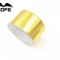 US $2.35 6% OFF|MOFE 2 Inch * 5M Reflect A Gold Thermal Tape Intake Wrap Reflective Heat Barrier Self Adhesive -in Sound & Heat Insulation Cotton from Automobiles & Motorcycles on Aliexpress.com | Alibaba Group