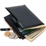 Мужской кошелек с кармашком для монет купить на AliExpress