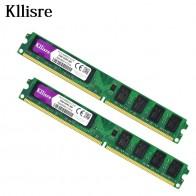 622.74 руб. |Kllisre 4 Гб (2 шт. X2GB) DDR2 2 Гб оперативной памяти 800 МГц PC2 6400U 240Pin 1,8 V CL6 память для настольного компьютера-in ОЗУ from Компьютер и офис on Aliexpress.com | Alibaba Group