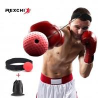 256.99 руб. 36% СКИДКА|REXCHI Kick Boxing Reflex Ball Head Band Fighting speed обучение боксерская груша Муай Тай ММА оборудование для упражнений спортивные аксессуары-in Пенчингболы и скоростные груши from Спорт и развлечения on Aliexpress.com | Alibaba Group