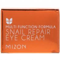 Mizon, Улиточный восстанавливающий крем для век, 0,84 унц. (25 мл)
