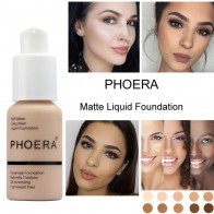 US $2.72 12% OFF|PHOERA New 30ml Matte Oil Control Concealer Liquid Foundation pallet shadows makeup pallete far paleti novo sombras Skin care-in Eye Shadow from Beauty & Health on Aliexpress.com | Alibaba Group