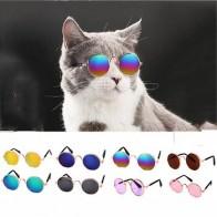 1 шт., милые очки для кошек, очки для собак, товары для питомцев, для маленьких собак, кошачий глаз, солнцезащитные очки для собак, фотографии, ...