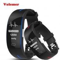 2028.83 руб. |Volemer P3 ЭКГ + PPG крови Давление мониторинга сердечного ритма умный группа пульсометр спортивный автоматизированный браслет умный браслет для фитнеса-in Смарт-браслеты from Бытовая электроника on Aliexpress.com | Alibaba Group