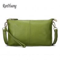 757.23 руб. 46% СКИДКА|RanHuang женские клатчи из натуральной кожи, яркие цвета, модные крошечные сумочки через плечо, клатчи-in Муфты from Багаж и сумки on Aliexpress.com | Alibaba Group