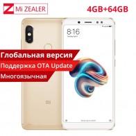 11446.77 руб. |Глобальная версия Xiaomi Redmi Note5 4 ГБ Оперативная память 64 ГБ Встроенная память мобильного Смартфон Snapdragon 636 Octa Core 5,99