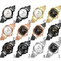 US $1.09 34% OFF|Moment # L05 2018 Luxury Geneva Women Watches dress Stainless Steel Mens WATCH Analog Quartz Bracelet Ladies Wrist Watch Drop-in Women