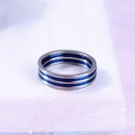 93.17 руб. 30% СКИДКА|1 мм новое кольцо в стиле панк с тонким титановым кольцом для пальцев, 5 шт. в партии, синее серебро, 6, 7, 8, 9 #, оптовая продажа, обруч для пар-in Обручальные кольца from Украшения и аксессуары on Aliexpress.com | Alibaba Group