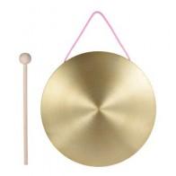 15 см ручные тарелки из латуни, медная Часовня, профессиональные перкуссионные инструменты для оперы с круглым игровым молотком - Собираем группу