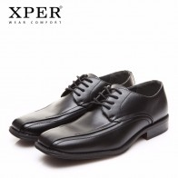 US $28.67 42% OFF|XPER Brand Fashion Men Dress Shoes Leather Black Formal Shoes Men Lace Up Wedding Shoes Business Big Size 40 45 #XYWD8650BL-in Formal Shoes from Shoes on Aliexpress.com | Alibaba Group