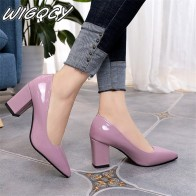 € 8.98 30% de DESCUENTO|El 2019 de las mujeres de tacón alto Sexy novia fiesta de tacón puntiagudo dedo del pie de la boca baja zapatos de tacón alto zapatos de mujer zapatos grandes tamaño 35 43-in Zapatos de tacón de mujer from zapatos on Aliexpress.com | Alibaba Group