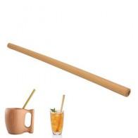 Органическая Бамбуковая трубочка для питья, 1 шт., для вечеринки, дня рождения, свадьбы, биоразлагаемая древесина, столовая посуда из соломы, ... - Вещи для дома до 300 руб