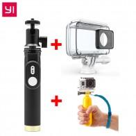 408.23 руб. |YI оригинальные аксессуары SelfieStick Bluetooth пульт дистанционного управления водостойкий Чехол плавающий для экшн камеры Xiaomi YI 4k и Спортивная камера купить на AliExpress