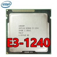 Четырехъядерный процессор Intel Xeon E3 1240 четырехъядерный процессор 8M cache 3,3 GHz 80W LGA 1155 E3 1240 процессор on AliExpress