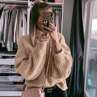 1189.06 руб. 40% СКИДКА|Conmoto Женские пуловеры и свитеры цвета хаки, женские повседневные джемперы, женский свитер водолазка-in Пуловеры from Женская одежда on Aliexpress.com | Alibaba Group