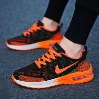 1020.53 руб. 40% СКИДКА|Брендовая мужская повседневная обувь унисекс, удобная сетчатая обувь на платформе, мужские сетчатые кеды, мужская обувь, Zapatos de Hombre Heren Schoenen купить на AliExpress
