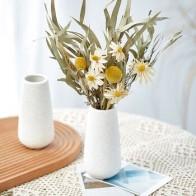 Скандинавские белые матовые керамические вазы, ваза для цветов, домашний декор, декоративные вазы, керамическая Столешница, ваза для праздн... - Шикарные вазы